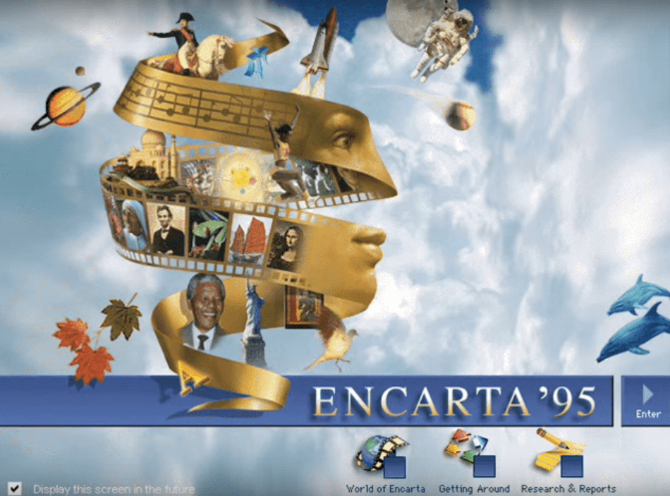 Technology dependence- Encarta